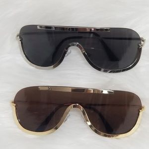 Nwt black brown sunglass